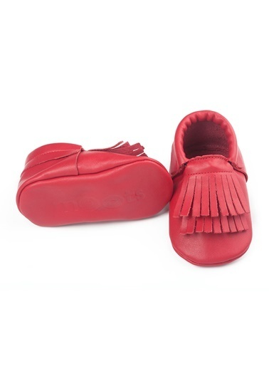 Moots Moots Beyaz Rectangle Ayakkabı Kırmızı